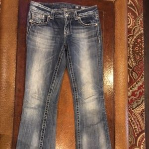 Miss Me Jeans Sz 27 Easy Boot